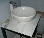 Stone sink code VCN02 size 50 cm.
