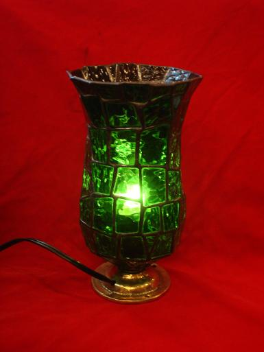 Stain glass table lamp NO.B12A