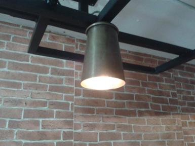 Pendent Lamp code HML001 size shade wide 90 mm.high 130 mm.
