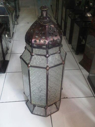 Morocco Lamp Item code MRL01A  size wide 20 cm high 40 cm