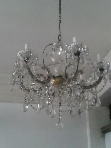 Crystal Chandelier Code.001B antique lamp